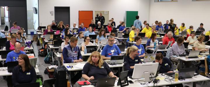 Vorbereitung auf die PC-Wettbewerbe bei den Deutschen Meisterschaften