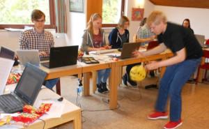Tastschreibseminar der Hessischen Stenografenjugend