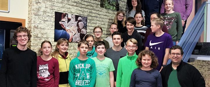 Hessische Stenografenjugend Tastschreib Grundseminar 2019